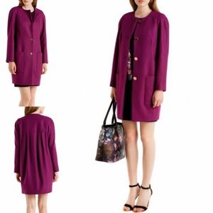 Ted Baker Mawd Wool Cocoon Coat
